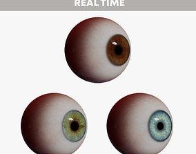 3D model animated Realistic Human Eye