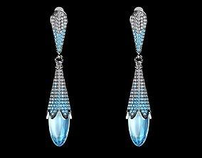 earring 3D printable model jewe