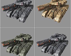 SF Heavy Tank MK4 3D model VR / AR ready