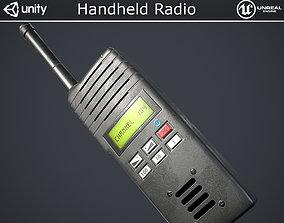 Handheld Radio 3D model