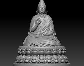 statue The Living Buddha of Tibet 3D print model