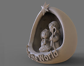 Nativity - Crib 3D print model
