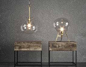 Mush Lights 3D model