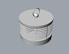 360-degree electric heater 3D MODEL
