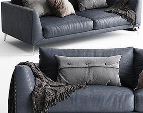3D BoConcept Fargo Sofa 2 Seats