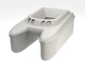 3D print model Carp Fishing rc boat