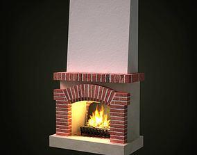 Indoor Fireplace 3D
