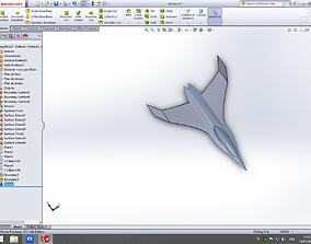 3D model drone nightfury xSS 06