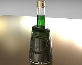 3D model Stripes 70cl beverage