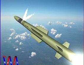 MIM-104F PAC-3 MSE Missile 3D asset