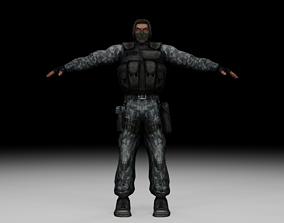 Stalker - Mercenary 03 3D model