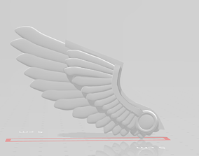 Angelic WIngs 3D printable model