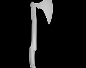 Viking ax 3D print model