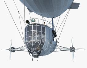 3D model game-ready Airship