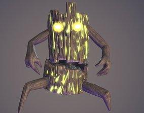 3D asset Dark Creature Terrible Stump PBR