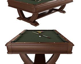 3D model Brunswick Pool Tables de soto hallmarks billiards