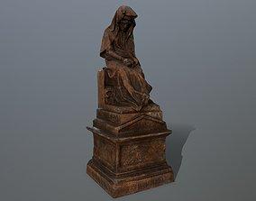 statue 3D asset
