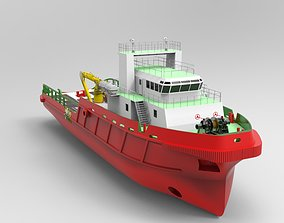 Supply vessel 3D model
