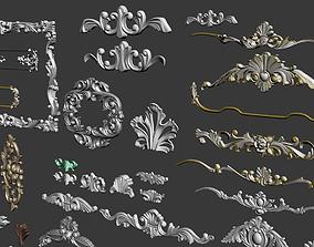 Architectural kit bash 3D model