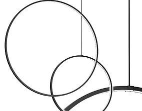 3D model Hoop pr S Hanging Lamp by Forstlight