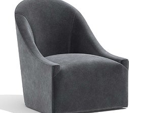 Restoration Hardware Lena swivel chair 3D