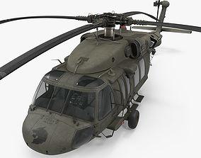 3D model Black Hawk