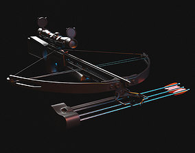 3D model gun Crossbow