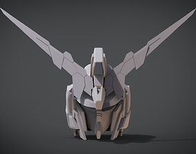 3D print model Gundam Unicorn Head