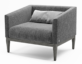 Busnelli Life Armchair design 3D