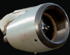 Airbus A320 Engine 3D