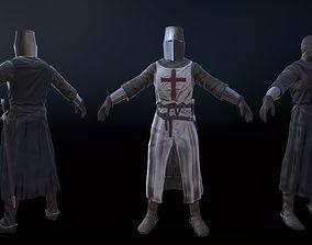 3D model Knight Crusader