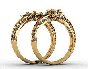 Diamond Ring 3D print model printable 3d-print