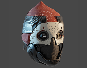 3D print model One-Eyed Mask from Destiny 2