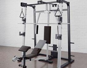 3D model Gym equipment 04 am169
