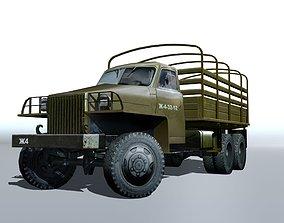 3D asset Studebaker us6