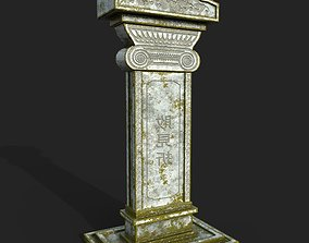 3D model game-ready Tombstone