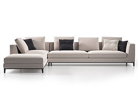 contemporary-design Lucrezia Modular Sofa 3D