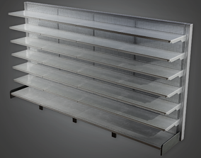 3D model Commerical Shelf 02 - SAM - PBR Game Ready