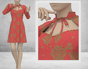Women Dress - 32 Marvelous Designer and Clo3D