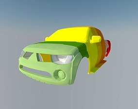 3D printable model off Mitsubishi L200 Triton