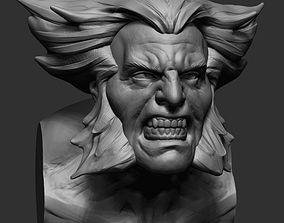 sculptures Wolverine Bust Printable