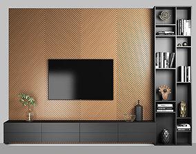 TV Wall 1 3D model