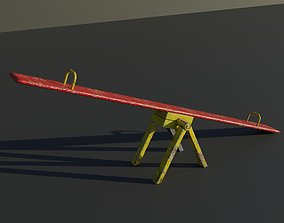 realtime 3D model of a Seesaw