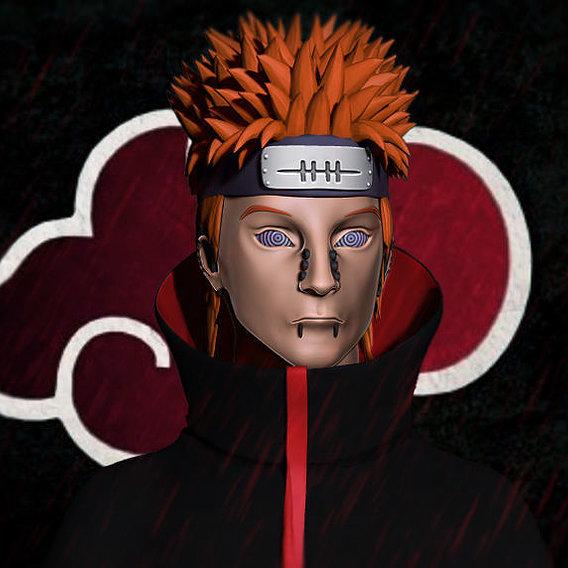 Pain - Yahiko from Naruto anime