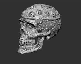 3D print model mexico Mayan Skull