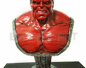 3D print model Hulk Angry Bust - Infinity War - from 1