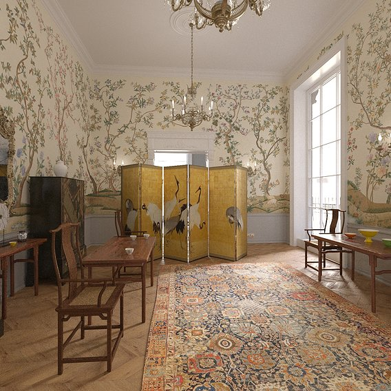 Hampton Road House China Room