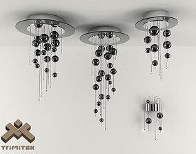 3D Bubbles Lamps Set