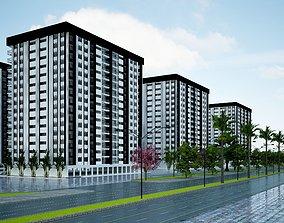 3D model Residential Apartment