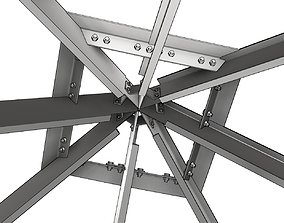Structural roof elements 3D